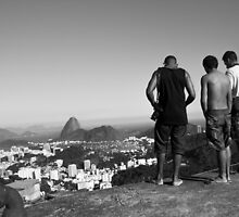 Watching over Rio by kakacorreia
