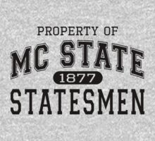 Property of MC State Statemen shirt - 22 Jumpstreet Channing Tatum Jonah Hill  by erikaandmonty