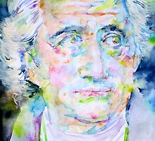 GOETHE - watercolor portrait by lautir