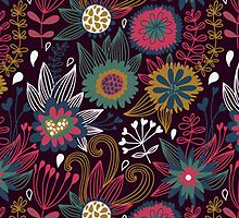Modern Floral Pattern by sale
