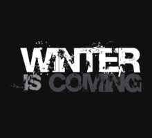 Winter is Coming - Legendary T-Shirt by That T-Shirt Guy