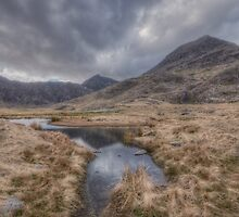 Snowdon and Crib Goch by Mike Hardisty