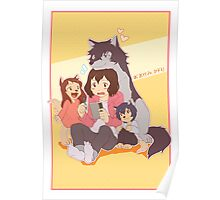 Wolf Family Poster