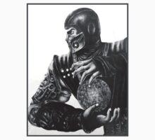 Sub Zero MORTAL KOMBAT MK by DeadlyGraphics