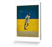 Zidane Greeting Card