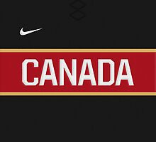 Team Canada 3rd Jersey Phone Case by Russ Jericho