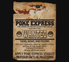 Poke Express - Trainers Wanted by Brandon Scribner