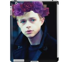 Dane DeHaan and his flower crown iPad Case/Skin