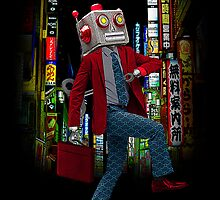 Mr Roboto's Night On The Town by JoeConde