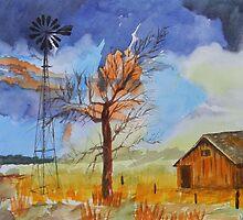 A Farm in Clayton County by Warren  Thompson