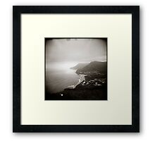 { vague skies } Framed Print