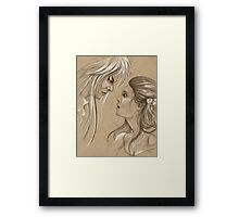 I Move the Stars for No One. Framed Print