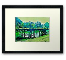 Daydreaming at Bellingen Framed Print
