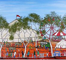 """Circus Outback Style"" Australia;  FOR SALE by EJCairns"