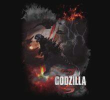 Godzilla  by JeremithRainces