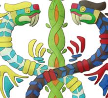 Twin Dragons of Kemuel (Jade Cocoon) Sticker