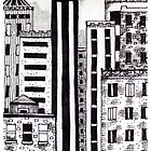 'City Buildings #1' by Jerry Kirk