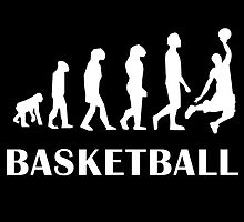 Basketball Evolution by kwg2200