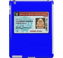 License To Kill iPad Case/Skin