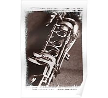 Old Clarinet Poster