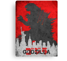 Godzilla 2014 Canvas Print