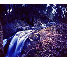 Honey Hollow 4, Bolton, Vermont Photographic Print