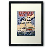 U.S. Coast Guard Framed Print