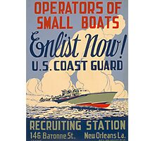 U.S. Coast Guard Photographic Print