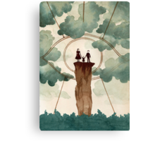 Unfortunate Events Indeed Canvas Print