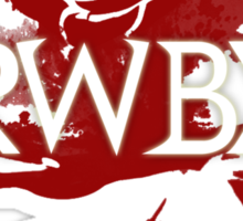 RWBY red rose Sticker