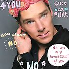Benedict Cumberbatch is a sassy gurl.  by molley13