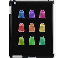Rainbow Android Daleks iPad Case/Skin