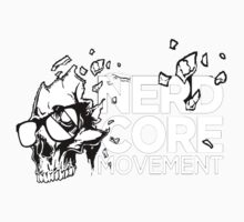 Nerdcore Movement Logo T-Shirt by damonmartin