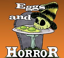 Green Eggs and Horror Cover by HenryGaudet