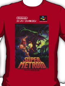 Super Metroid Japanese Box Art Shirt T-Shirt