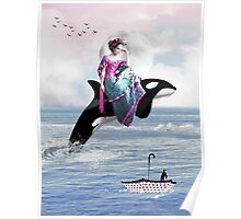 Hitching A Ride Poster