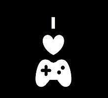 I Love Gaming by Zanegoten