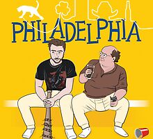 Philadelphia - Always Sunny movie poster by lavalamp