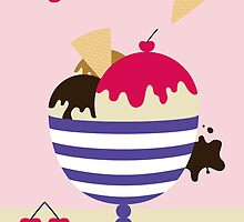 Ice cream Sundae by shanmclean