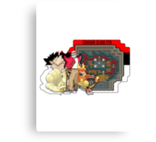 Pokemon - Cinnabar Island Gym (Blaine) Canvas Print