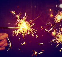 sparklers by PJ Ryan