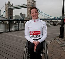 Tatyana McFadden USA by Keith Larby