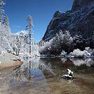 Yosemite - Winter reflections by Mark Bolton