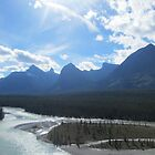 Rivers of the Canadian Rockies by justineb