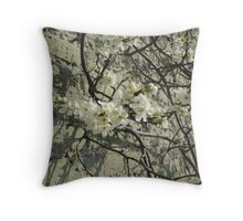 Blossom Wall Throw Pillow