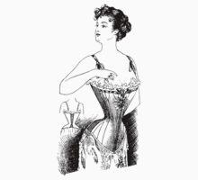 Elegant Edwardian Corset Tee by ShabbyChick