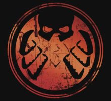 Hydra / S.H.I.E.L.D. Logo (red) by Laubi
