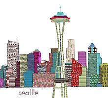 Seattle skyline by bri-b