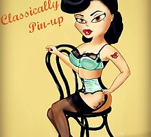 """Classically Pin-up"" by Cassie Reed"