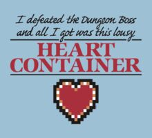 Lousy Heart Container by mikehandyart